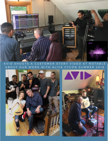 Avid Shoots Customer Story at Notable. Featuring Aliya Cycon